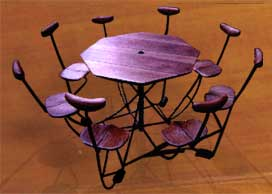 Tables for cafes, restaurants, hotels and home